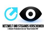 Bild: Netzwelt und Steganos verschenken Premium-Lizenzen für OkayFreedom VPN.