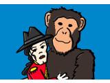 Bild: Noch sind wir die dominierende Spezies. Aber wie lange brauchen die Affen noch um aufzuschließen?