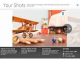 """Bild: Nutzer können beim Canon-Tutorial """"Outside of Auto"""" mit einer virtuellen DSLR-Fotos machen. Diese werden im Anschluss bewertet."""