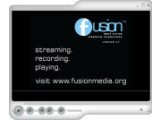 Bild: Oberfläche des Fusion Media Players.