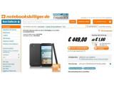 Bild: Der Online-Shop Notebooksbilliger.de akzeptiert Vorbestellungen für das HTC First.