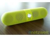 Bild: Pille als Lautsprecher: die mobile Bluetooth-Box Beats Pill.
