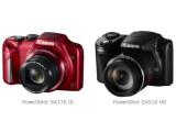 Bild: PoerShot SX510 HS und PowerShot SX170 IS sind die neuen Superzoom-Kompaktkameras von Canon.