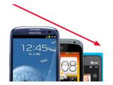 Bild: Der Preis für viele Top-Smartphones aus 2012 ist rapide gesunken. (Montage: netzwelt)