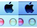 Bild: Der Retina-Effekt beim Apple MacBook: Einzelne Pixel sind mit dem Auge kaum mehr zu erkennen.