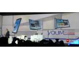 Bild: Samsung hat auf der CES neue flexible Displays für Smartphones vorgestellt.