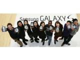 Bild: Samsung feiert den Erfolg der Galaxy S-Reihe.