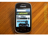 Bild: Das Samsung Galaxy Star läuft mit Android 4.1 Jelly Bean.