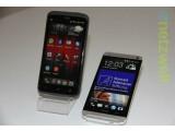 Bild: Selber Name, selber Hersteller - dennoch total unterschiedlich: Das HTC One (rechts) und das HTC One X (links).