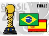 Bild: Den Sieger des Confederations-Cup 2013 machen Spanien und Brasilien unter sich aus.