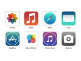 Bild: Wie sieht iOS 7 aus? Die App-Icons in einem Design Mock-Up.