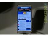 Bild: Sieht aus wie der Vorgänger: Das Samsung Galaxy S4.