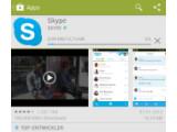 Bild: Die Skype-App für Android-Systeme können Sie sich kostenlos im Google Play Store runterladen.