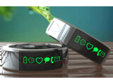 Bild: Der Smarty Ring unterichtet den Träger über die Aktivitäten seines Smartphones.