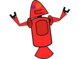 Bild: So sah der erste Entwurf für ein Android-Maskottchen aus.