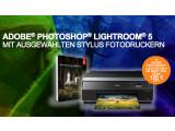 Bild: sonder-aktion von Epson: Lightroom 5 kostenlos zum Fotodrucker erhalten.