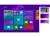 Bild: Startbildschirm der Windows 8.1 Preview-Version