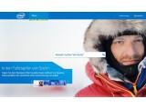 """Bild: Die Startseite von Intel. """"Wonach suchen Sie heute?"""" Komische Frage, oder?"""