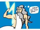 Bild: Strom wird immer teuer! Auch für den Donnergott?