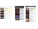 Bild: Ein Suchbegriff, drei Ergebnisse: Je nach Geräteeinstellungen und vorherigen Suchanfragen präsentiert Youtube andere Treffer.