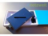 Bild: Tablet, Stift, Tastatur, Netzteil - alles da, um mit dem Test zu beginnen.