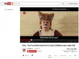 Bild: The Fox von Ylvis - das Top-Video auf YouTube 2013.