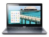 Bild: Jetzt mit Touchscreen: Ansonsten unterscheiden sich das bereits erhältliche Chromebook Acer C720 und das nun neue Modell C720P nicht voneinander.