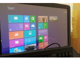 Bild: Touchscreen-Optik auf dem Desktop-PC. Windows 8 ist radikal anders, als seine Vorgänger.
