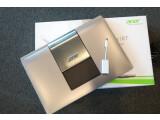 Bild: Trotz gewöhnungsbedürftigem Formfaktor zum Glück nicht in einer dunklen Schublade verschwunden: Das Acer Aspire R7 ist da!