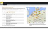 Bild: Über verfügbare Kabel Deutschland-Hotspots gibt der Hotspotfinder des Unternehmens Auskunft.