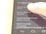 Bild: Das Video zeigt einen frühen Prototypen des Nexus 5.
