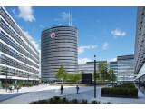 Bild: Vodafone-Zentrale in Düsseldorf: Das Unternehmen hatte vorübergehend mit Netzstörungen zu kämpfen.