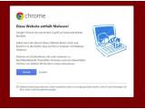 """Bild: """"Vorsicht Malware!"""": netzwelt.de ist am Wochenende Opfer eine Malware-Attacke geworden. Das Problem ist mittlerweile behoben."""