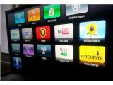 Bild: Mit Watchever hat das Apple TV eine neue Anwendung.