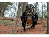 Bild: Wirkt jetzt noch knuffig: Roboter-Modell LS3 von Boston Dynamics - jener Firma, die kürzlich von Google gekauft wurde.