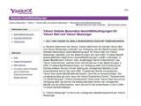 Bild: Yahoo liest mit: Neue Nutzungsbedingungen für den Webmailer des Unternehmens.