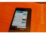 Bild: Das Z10 ist das erste BlackBerry 10-Smartphone.