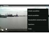 Bild: Zoe-Clips können auf dem HTC One Mini auch mit Musik unterlegt werden.