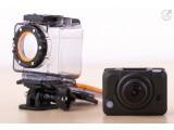Bild: Mit 120 Euro ist die Medion Life S47015 (MD87005) im Vergleich zu Konkurrenz günstig. Was die Actioncam leistet lesen sie im Test.