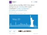 Bild: Am 20. Mai schon was vor? Microsoft überträgt die Surface-Veranstaltung auch per Webcast.