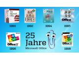 Bild: 25 Jahre MS Office: Was bleibt im Gedächtnis? Die Büroklammer.
