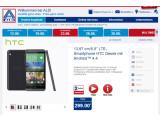 Bild: Aldi Nord bietet ab dem 26. Juni das HTC Desire 816 an.