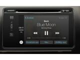 Bild: Apple CarPlay integriert das iPhone in die Bordelektronik. Die Steuerung etwa der Musikauswahl kann auch per Sprachbefehl erfolgen.