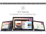 """Bild: Apples neue Betriebssystem-Version Mac OS X 10.10 (""""Yosemite"""") bringt viele neue Funktionen und arbeitet noch enger mit dem mobilen iOS zusammen."""