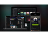 Bild: Das Auge hört mit. Spotify glänzt mit dunkler Optik und verbesserten Features.