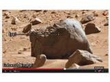 Bild: Angeblich ist hier ein Dinosaurier-Kopf auf dem Mars zu sehen, Bilder wie diese sind ein gefundenes Fressen für naive Zuschauer.