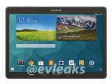 Bild: Bilder vom Galaxy Tab S 10.5 existieren bereits im Netz. Das Highlight dürfte klar der riesige AMOLED-Bildschirm sein.