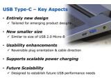 Bild: Im Blld zu sehen: Der neue Stecker (links) ist wesentlich kleiner als der aktuelle USB-Stecker.