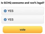 Bild: Der britische Geheimdienst kann Online-Umfragen nach Belieben manipulieren.