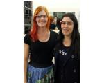 Bild: Cecilia Abadie (rechts im Bild) muss ihren Strafzettel nicht begleichen.